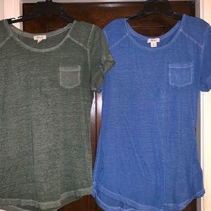 EUC t shirt bundle